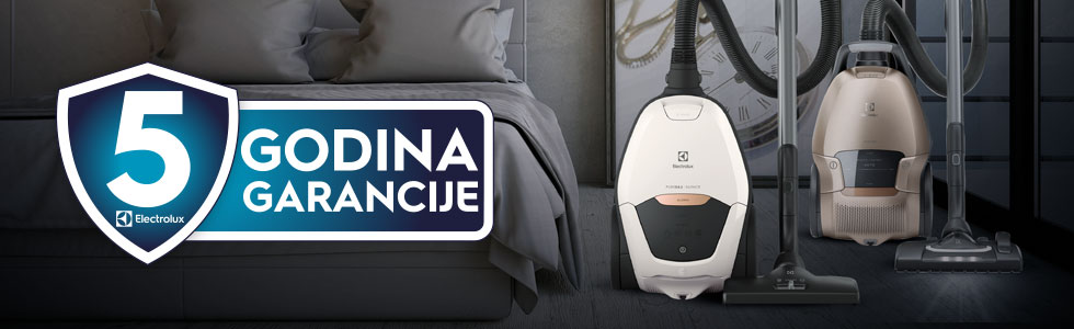 5 year warranty vacuum cleaners Croatia – September – December 2020