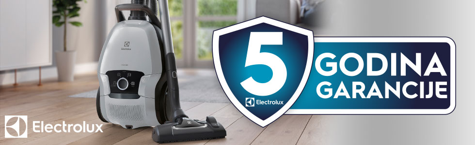 5 years warranty vacuum cleaners