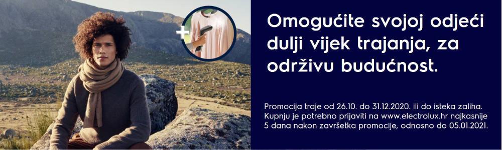 Giveaway campaign for dryers Q4 Croatia