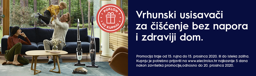 Giveaway campaign for vacuum cleaners Q4 Croatia