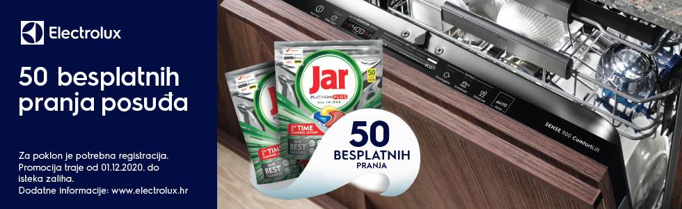 JAR giveaway campaign for dishwashers 2020 Croatia
