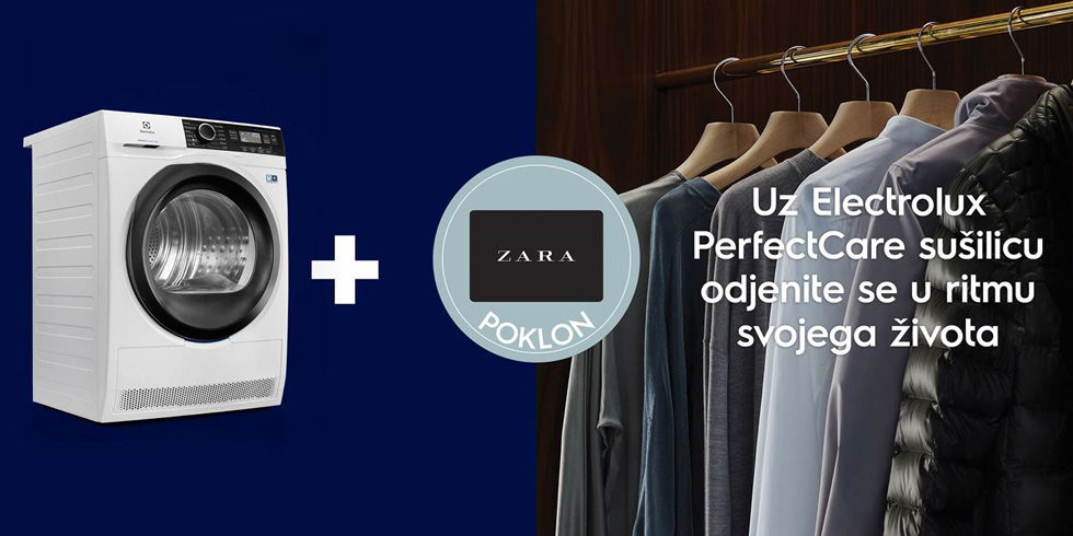 Electrolux Perfect Care Zara Giveaway Campaign Oct 2018, Croatia